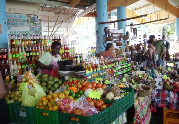 Marché En Martinique