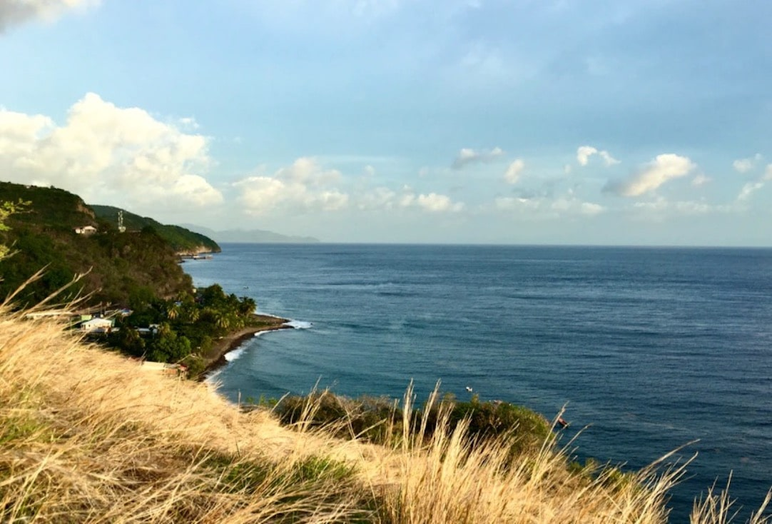 La mer en Martinique